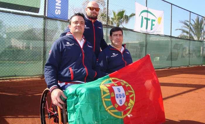 Tenistas em Cadeira de Rodas jogam qualificação para o mundial