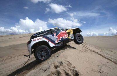 Peugeot Sport vencedores do último Dakar, testou no Algarve