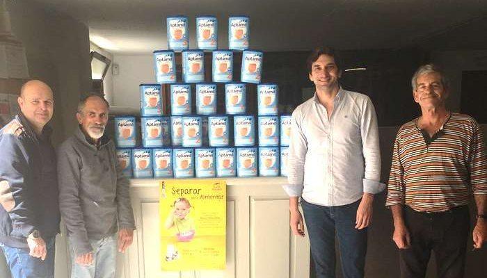 Separar para Alimentar entregou alimentos ao Banco Alimentar