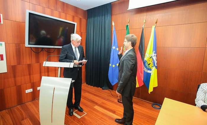 Cônsul Honorário da Alemanha tomou posse em Lagos