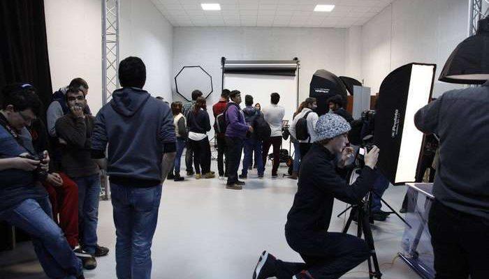 Mário Galiano na ETIC_Algarve para um dia de Fotografia