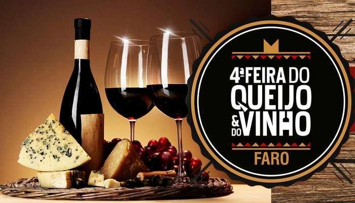 Feira do Queijo e do Vinho no fim de semana em Faro