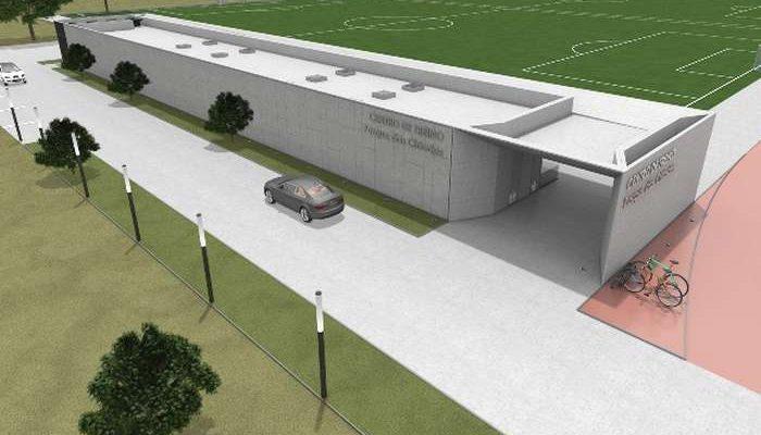 Novo Centro de Estágio no Parque das Cidades Faro / Loulé