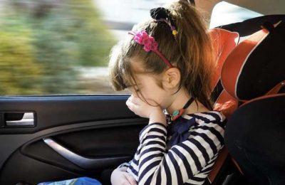 O enjoo é um problema numa viagem de automóvel