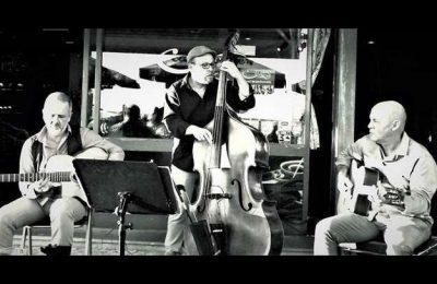 Cool Manouche trio no Cantaloupe Café em Olhão