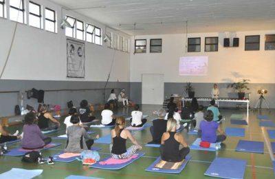 Mega Aula de Mind & Body do Programa Viva + em Lagoa