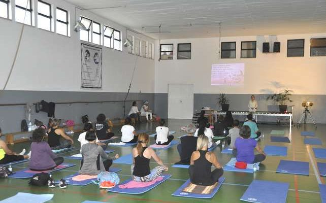 Mega Aula de Mind & Body do Programa Viva + em Lagoa