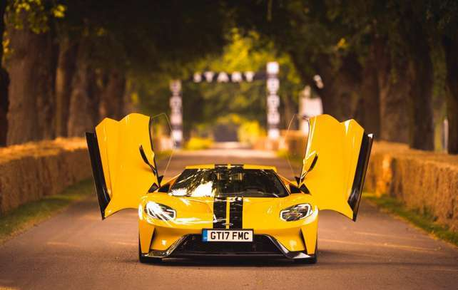 "Ford GT no ""Goodwood Festival of Speed 2017"""