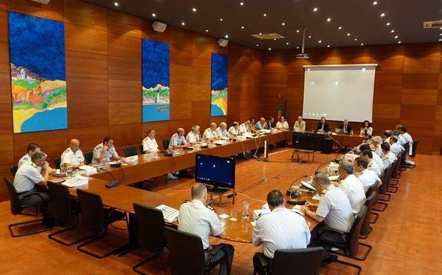 Futuros Oficiais Generais visitaram hoje a CCDR Algarve