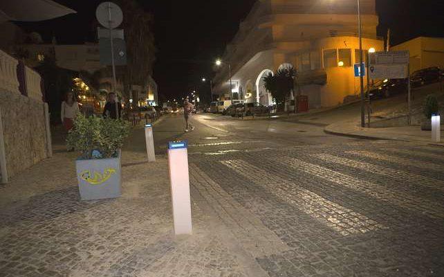 Lagoa testa sistema de sinalização inovador na via pública