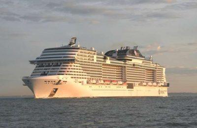 Super navio MSC Meraviglia foi hoje entregue à MSC Cruzeiros