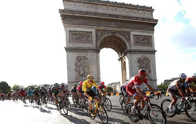 O Eurosport assegura a cobertura diária da Volta à França