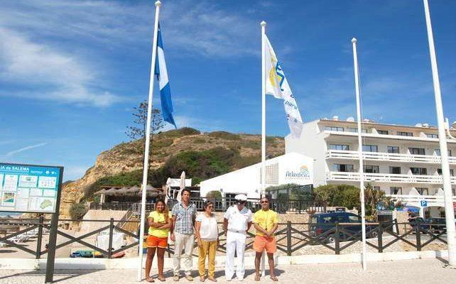 Bandeiras Azuis nas praias do concelho de Vila do Bispo