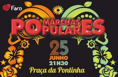 Marchas Populares em Faro no domingo (25)