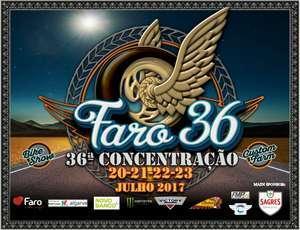 Faro em festa com a 36ª Concentração de Motos