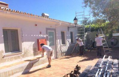 Jovens Franceses participam em trabalhos na Quinta do Peral