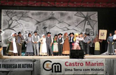 O encontro etnográfico em Altura homenageou o Moleiro
