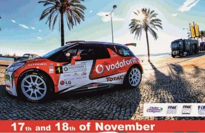 Final do European Rally Trophy no Rallye Casinos do Algarve