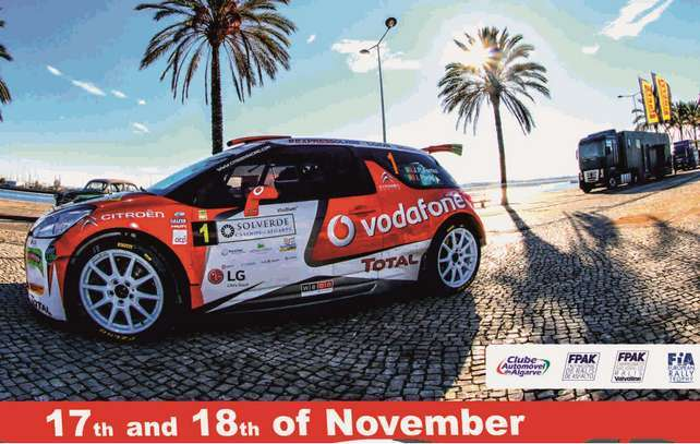 Final do European Rally Trophy no Rallye Casinos do Algarve
