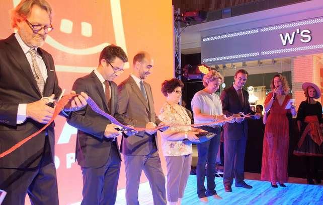 O MAR Shopping Algarve foi hoje inaugurado