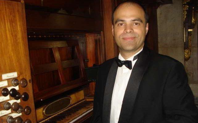 António Esteireiro no Festival de Órgão em Faro