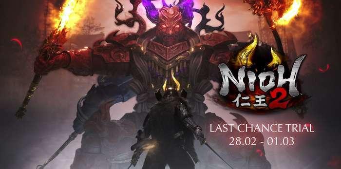 Já está disponível até ao próximo dia 1 de março, a última demo de Nioh 2, que chegará em exclusivo à PlayStation®4 no próximo dia 13 de março