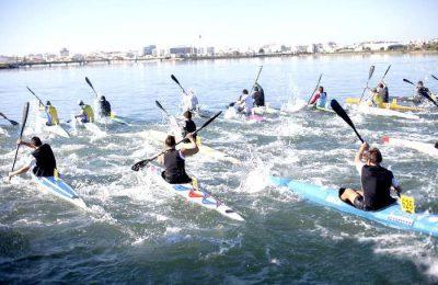 Campeonato Nacional de Canoagem de Mar em Lagoa