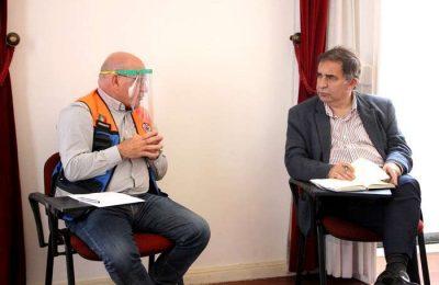 José Apolinário reuniu com a proteção civil em Castro Marim