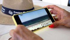 Sistema de imagens reais nas Praias de Castro Marim