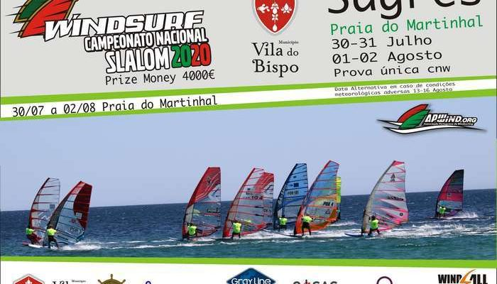 Windsurf: Campeonato Nacional na Praia do Martinhal