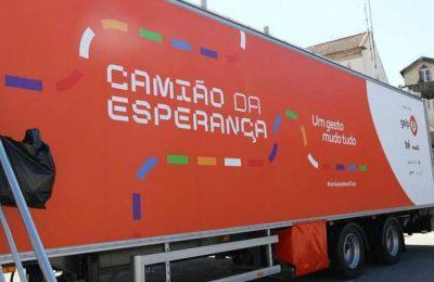 Camião Esperança em Lagoa realiza testes serológicos
