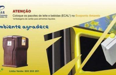 Algar instala novos contentores para resíduos recicláveis