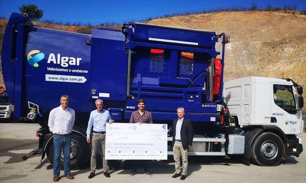 A Algar adquiriu viaturas lava-ecopontos automatizadas
