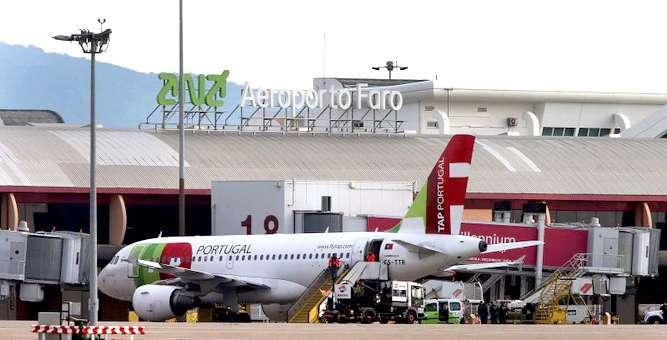 Normalizada as chegada de passageiros ao aeroporto de Faro