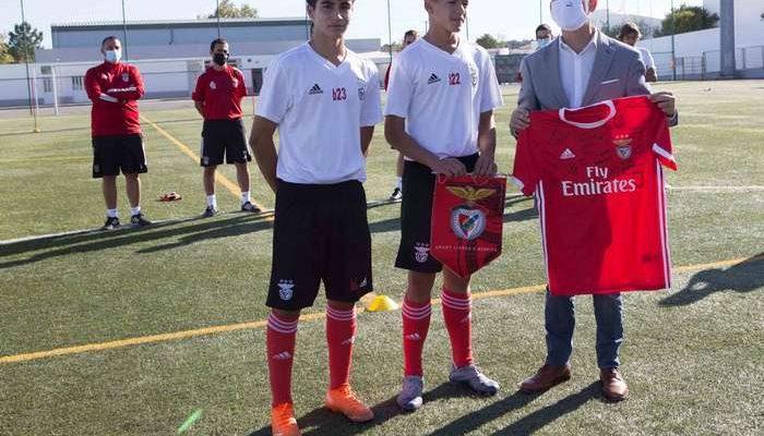 Estágios do Benfica Futebol Campus em Lagoa