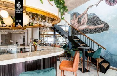 Premiada a remodelação de interiores do EVA Senses Hotel