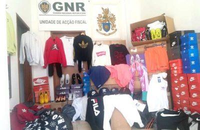 GNR de Faro apreende mercadoria contrafeita em Olhão