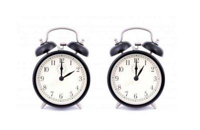 Os Relógios atrasam 1 hora na madrugada de Domingo