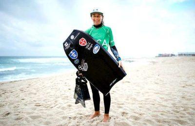 Joana Schenker conquistou o 7º título nacional de Bodyboard
