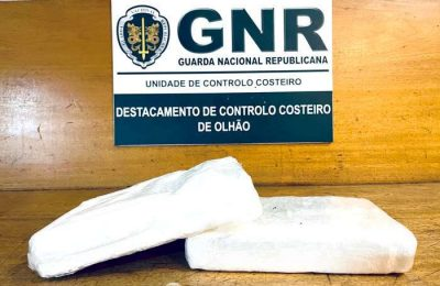 GNR de VRSA apreende cocaína na ponte do Guadiana