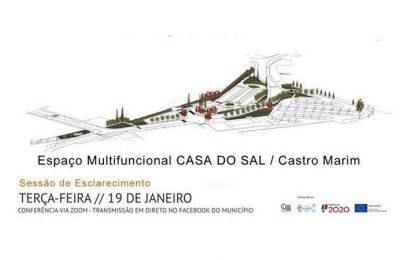 Projeto da envolvente da Casa do Sal em Castro Marim