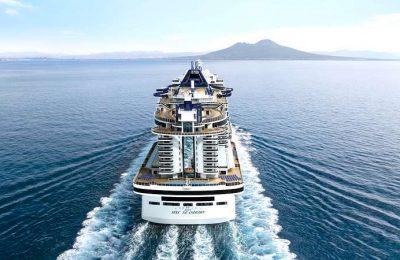 O MSC Seashore vai navegar no Mediterrâneo até Novembro