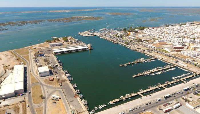 Reforço da segurança do porto de pesca de Olhão