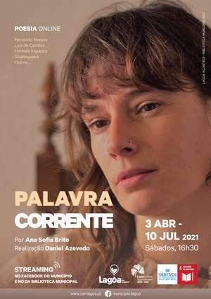 """Palavra Corrente - """"Poesia"""" por Ana Sofia Brito em Lagoa"""