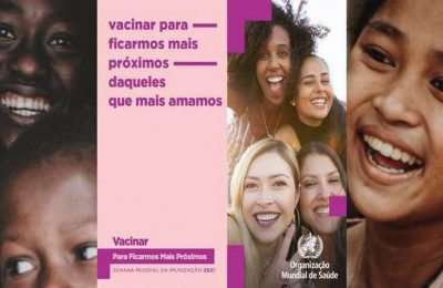 Campanha Vacinar para ficarmos mais próximos