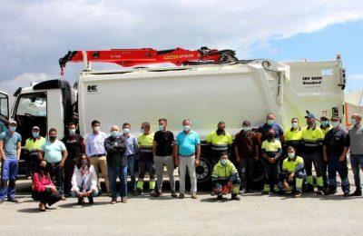 Castro Marim adquire nova viatura de resíduos sólidos