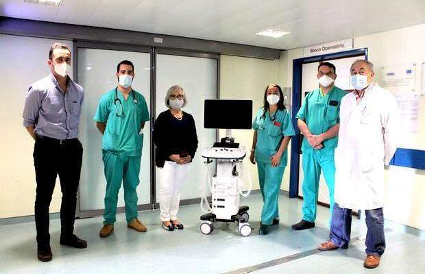 Anestesiologistas oferecem Ecógrafo Digital ao CHUA